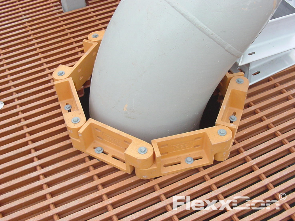 Pultruded grating roosters offshore