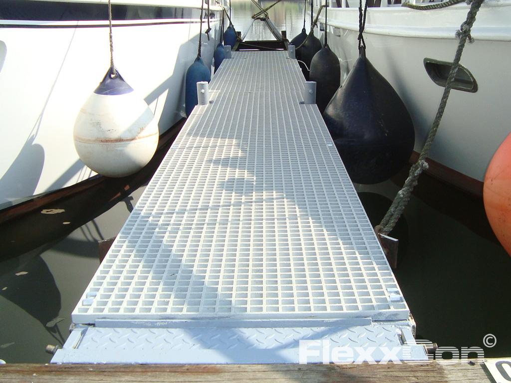 GVK kunststof roosters in jachthavens