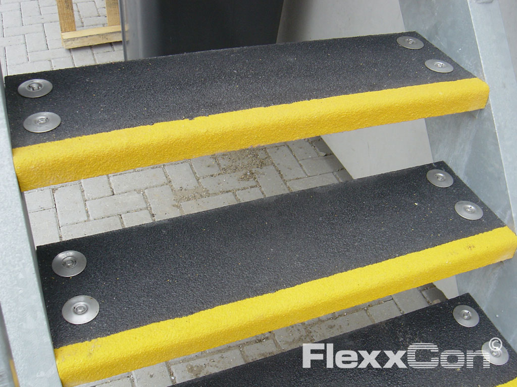 Kunststof traptreden